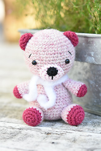 Alpaca Teddy Bear by Mari-Liis Lille
