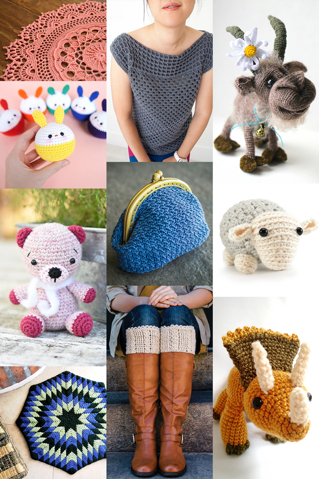 Want to infuse your crochet with some cuteness? Try one of these adorable new crochet patterns!