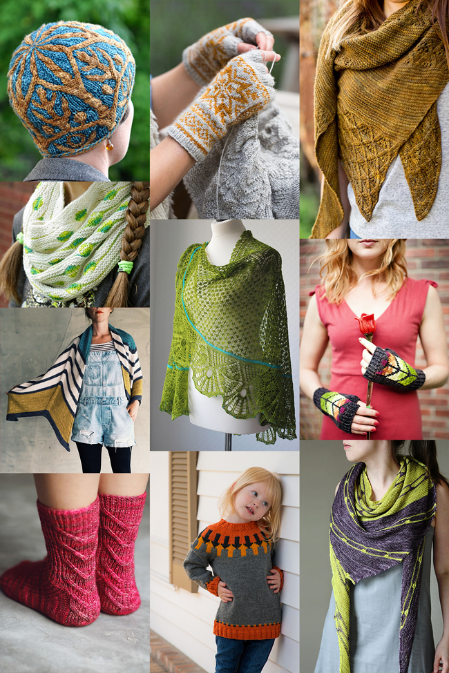 Looking for something to knit? Here are ten of the best knitting patterns from independent designers, fall 2016.