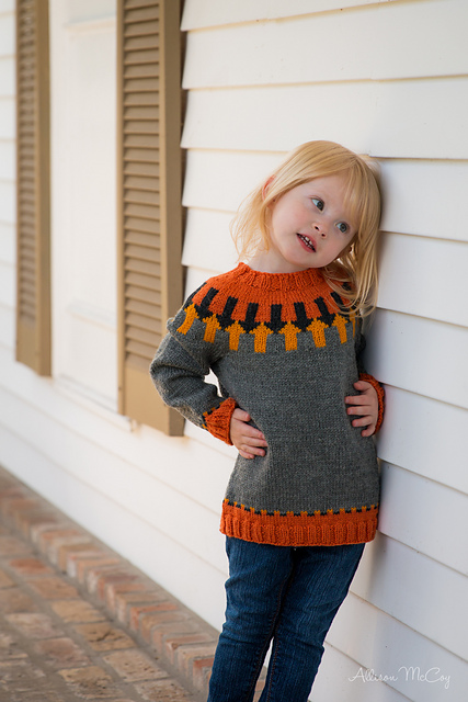Wilhelm Tell (Icelandic Yoke Sweater) by Elin Brissman