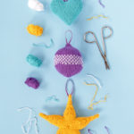 Knit Holiday Ornaments Three Ways