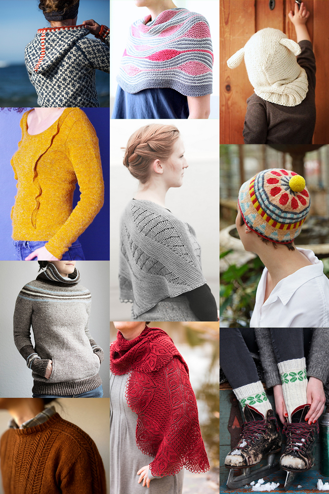 There are so many inspiring new things to knit this season - here are ten colorful, contemporary knitting patterns to add to your project queue.