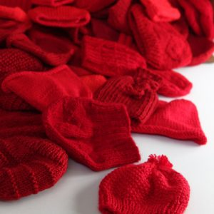 e9f9d6f7233 Red Hats for Preemies · Little Hats Big Hearts pairs newborns with red hats  and life saving information every year during