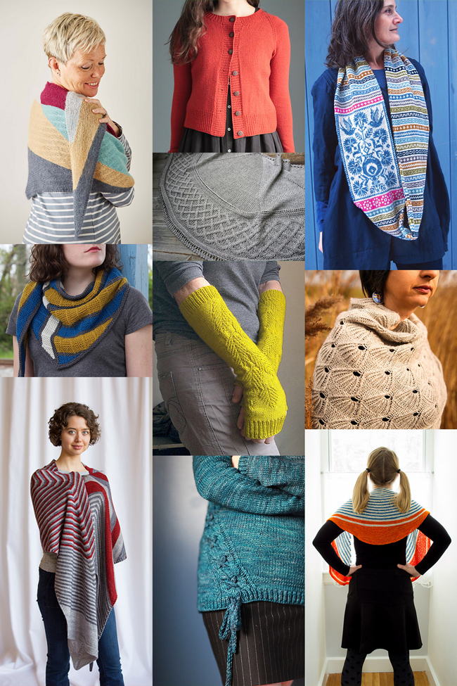 Temperatures are rising, so it's time to knit up some colorful layers for your spring wardrobe! Click through for ten new patterns to knit in this great roundup.