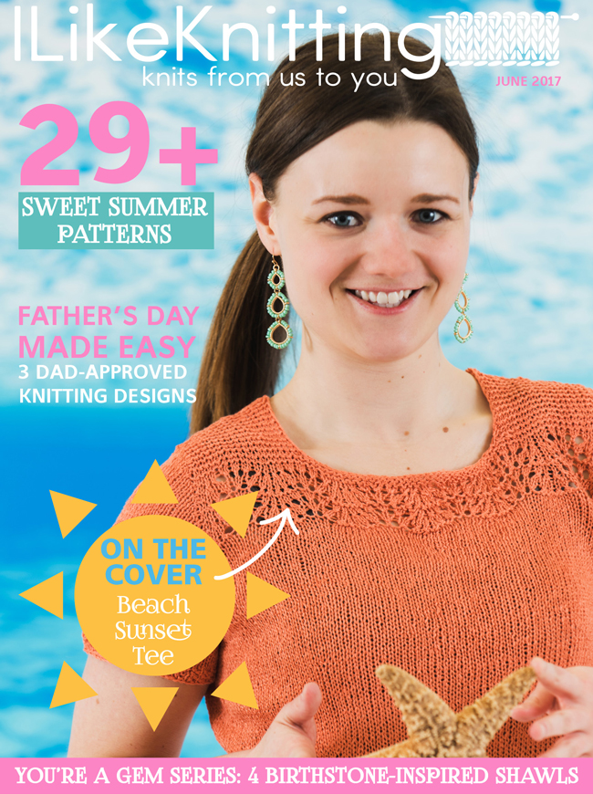 I Like Knitting magazine, June 2017