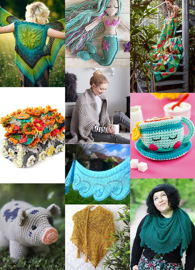 Looking for something new to crochet? Try one of these newly published designs, featuring everything from cute to chic!