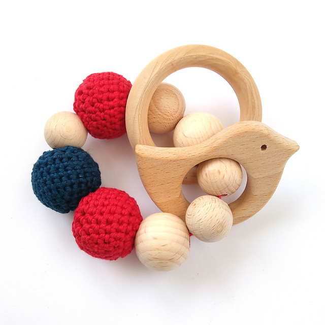 Baby Teething Toy by Jan van Telde