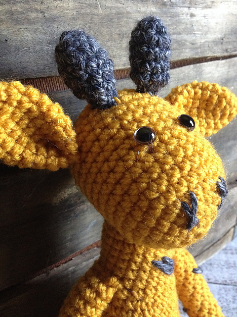 Giraffe Doll by Erica Lynn