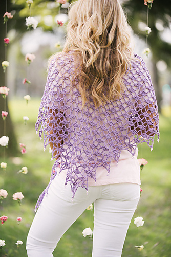 Moonlit Shells Shawl by Jennifer E. Ryan