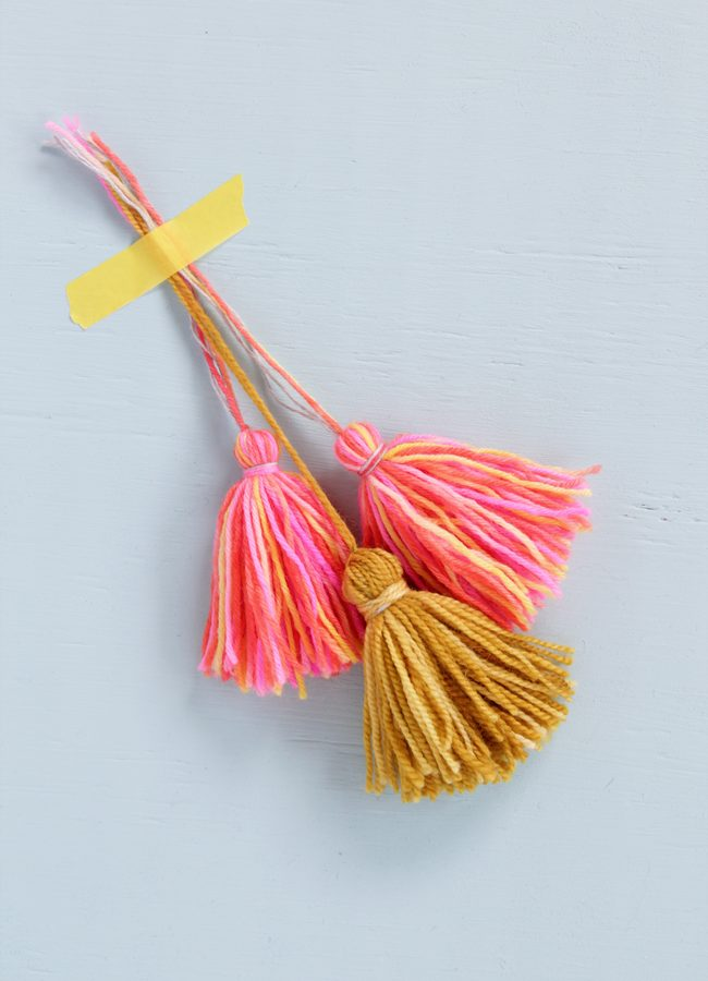 Perfect Tassel Tips & Tricks