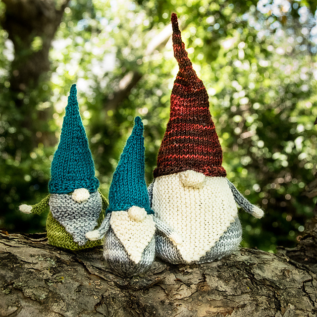 Never Not Gnoming knitting pattern by Sarah Schira