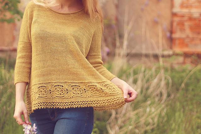 Majula knitting pattern by Marzena Kołaczek