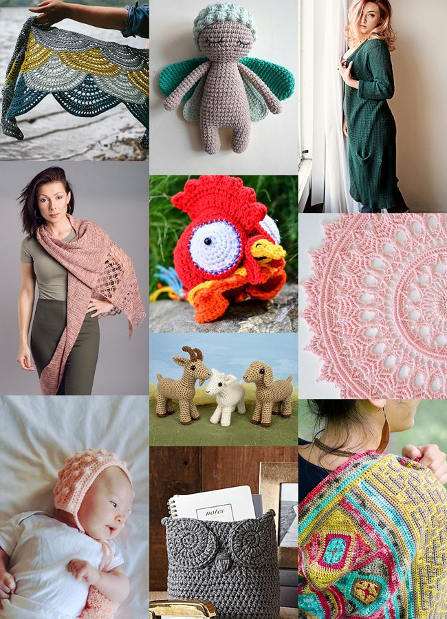 From garden fairies to goats, these crochet patterns don't disappoint! Click through to find fall crocheting inspiration.