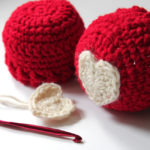 Heart Appliqué Hat – Free Baby Crochet Pattern