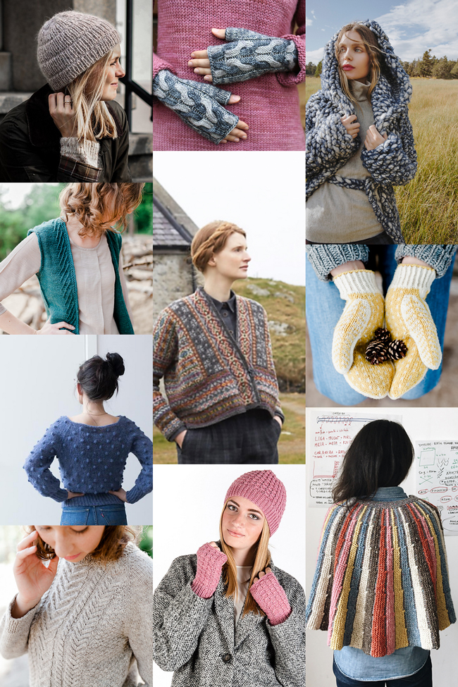 Looking for something to cast on this fall? Check out ten of the best newly-released patterns from October & November 2017.
