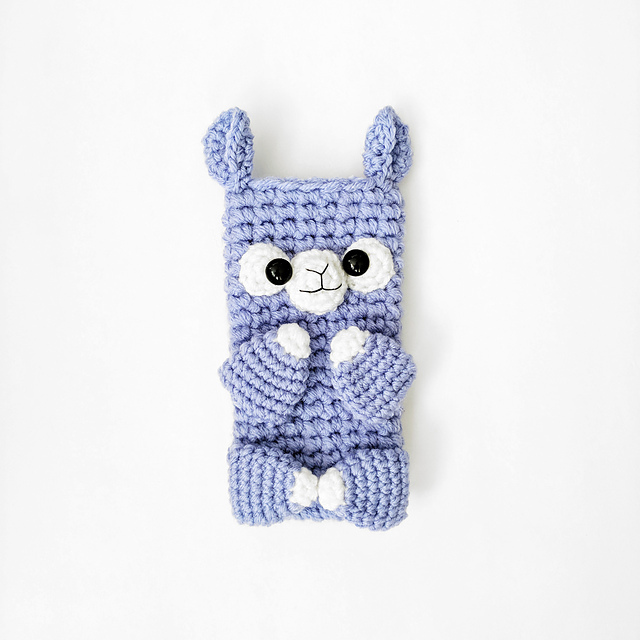 Alpaca Phone Sleeve by Hello Happy