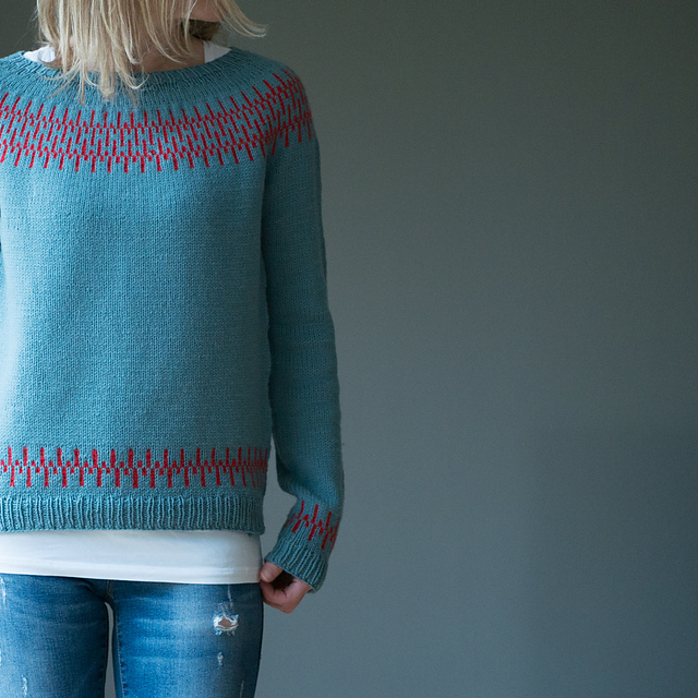 Beat Sweater by Katrin Schneider