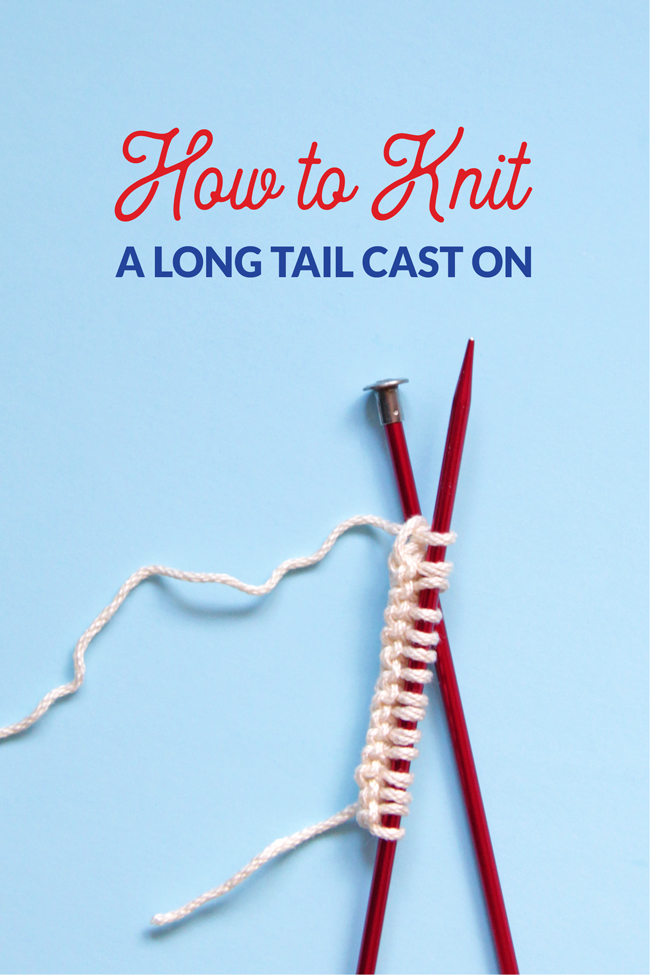 Learn how to master the Long Tail Cast On, the most widely used cast on in knitting. This tutorial includes instructions for how to estimate your long tail length, as well as how to begin this cast on *without* a slip knot!