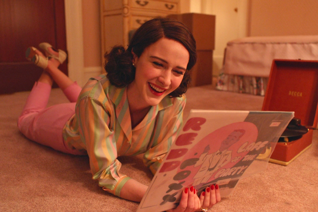 Knitflix for Hiberknitting: The Marvelous Mrs. Maisel
