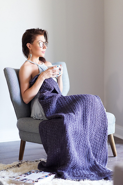 Luxurious Lap Blanket by Kristina Smiley