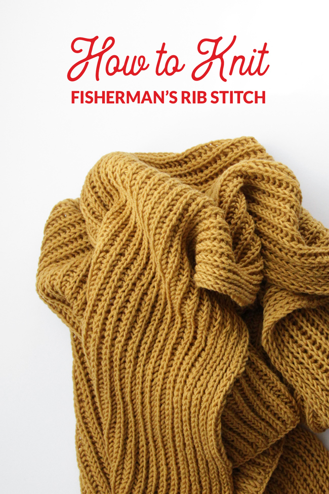 The Fisherman's Rib Stitch is a great alternative to knitting brioche because it results in a fluffy, dimensional finished fabric, but it's a bit easier to knit. Learn all about how to knit Fisherman's Rib, plus learn how to fix mistakes when they crop up, in two great video tutorials.
