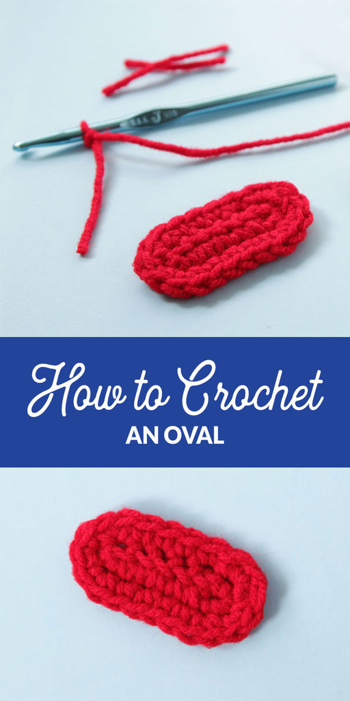 Learn how to start a crochet project with an oval, great for starting baby booties, totes, and more!