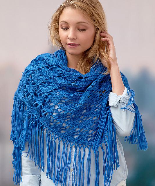 Crochet Boho Shawl by Jamie Swiatek