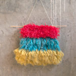 Tiered Colorblock Wall Hanging – Latch Hook Pattern