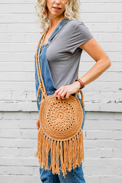 Street Fair Boho Purse by Jess Coppom