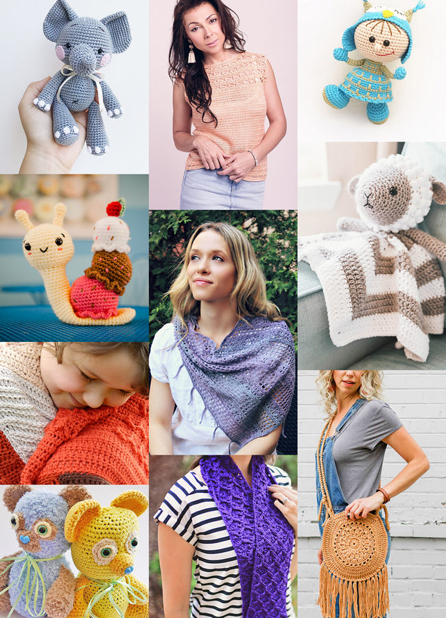 Is your summer crochet routine in need of a mix up? Try your hooks at one of these 10 brand new patterns, half of which are adorable handmade toy ideas!