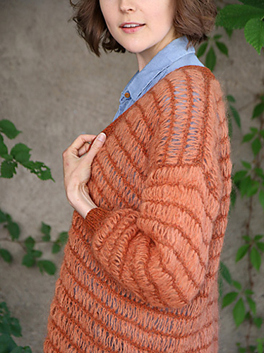 Oh My Cardi / Oh My jakke by Anna & Heidi Pickles