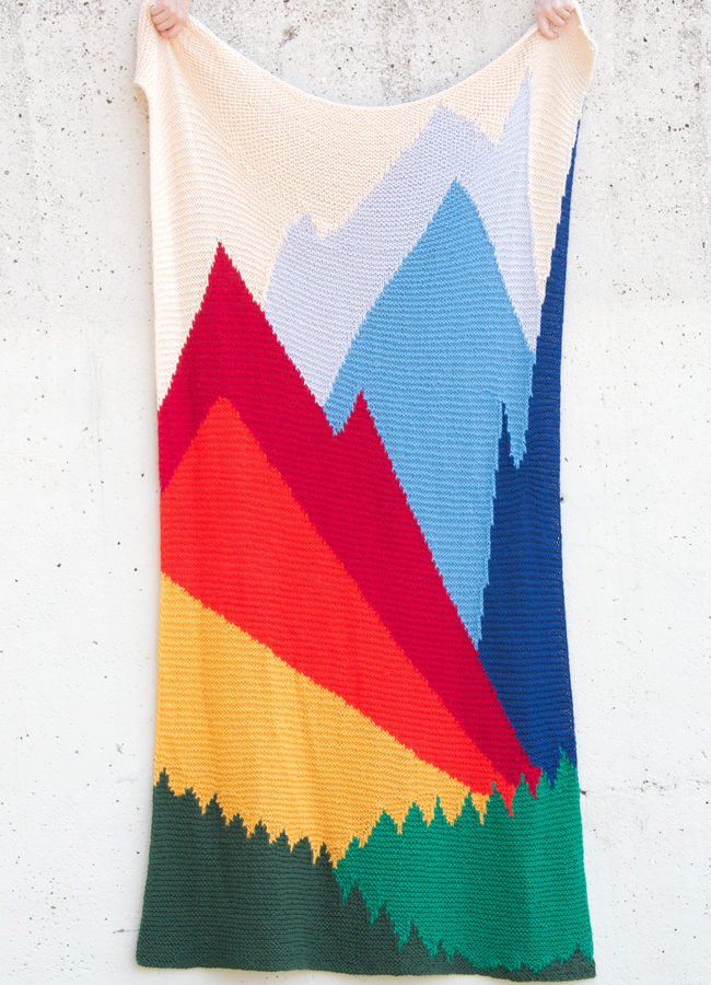 It's almost Read Along Knit Along time. Are you ready to climb Intarsia Mountain?