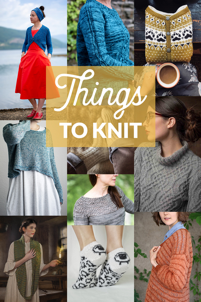 Things to Knit - August 2018 on Hands Occupied