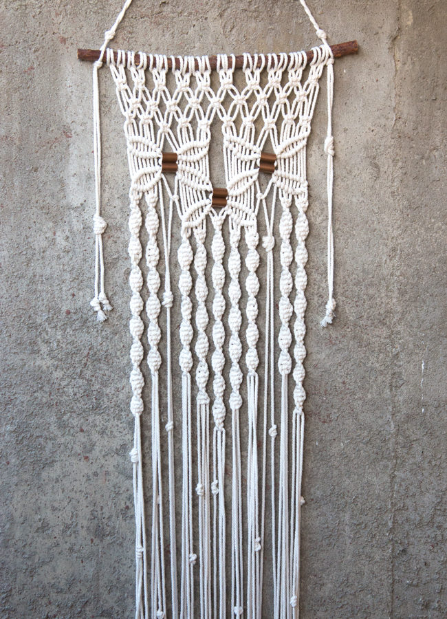 Ever tried macrame? Whether you're a first-timer or want to give it a chance for the first time in awhile, one of these new kits has everything to get you knotting in no time.