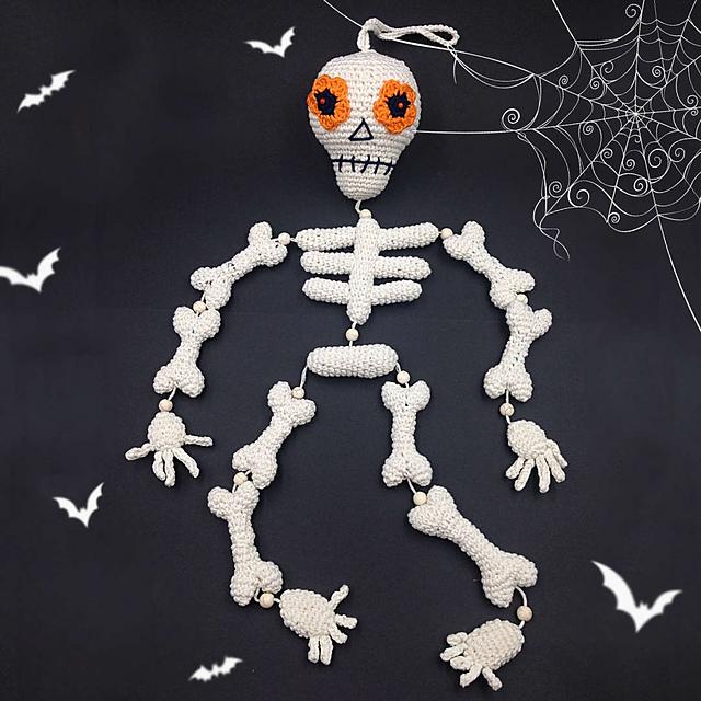 Halloween Skeleton by Maja Piskorska