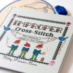 A peek inside Improper Cross-Stitch by Haley Pierson-Cox
