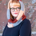 Checked Snood – free knitting pattern