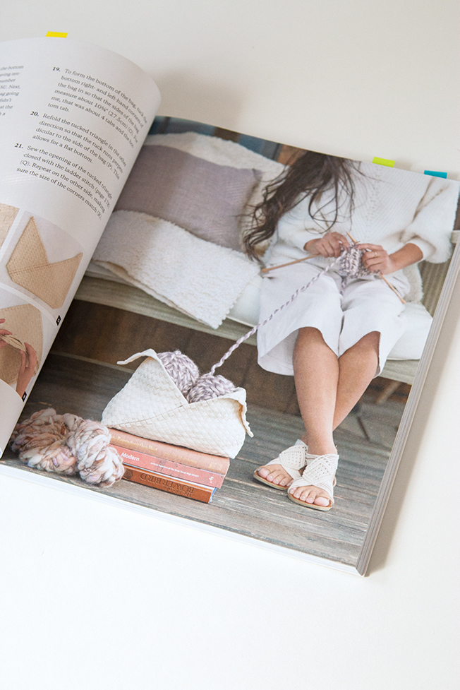 Weaving Within Reach is a beautiful new craft book from Anne Weil, author of Knitting Without Needles and blogger behind Flax & Twine.