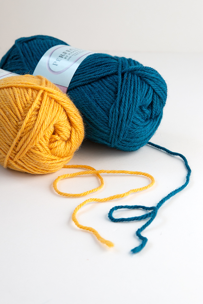 Perfection Worsted from Kraemer Yarns is a real workhorse of a yarn. It's the ideal pick for knitters and crocheters looking to make colorful projects that won't break the bank! Click through for a full review.