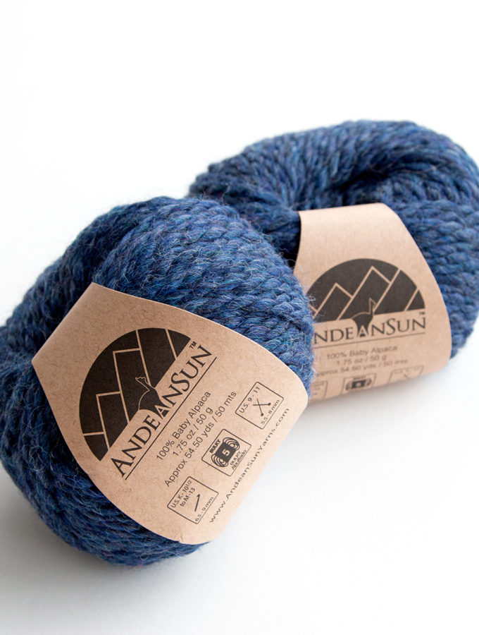 100% Baby Alpaca Yarn from Andean Sun is so soft! Get the specs on this cuddly yarn and enter to win two balls for your next knit or crochet project.
