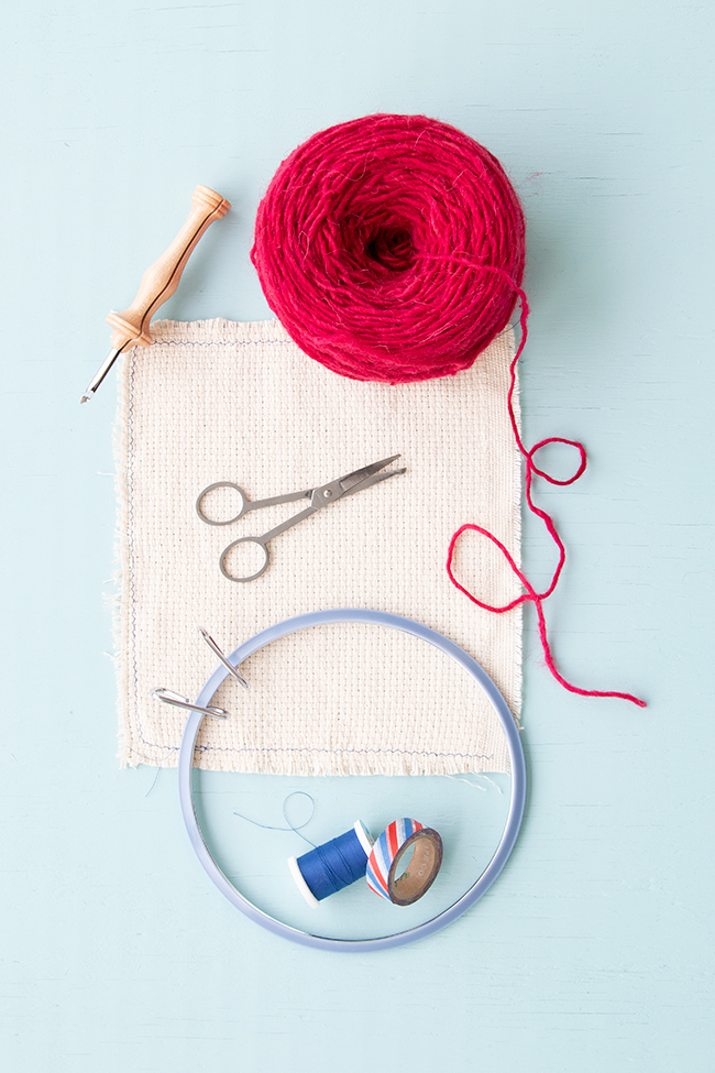 Also known as punch hooking, punch needle is an easy-to-learn technique for making your own rugs, tapestries and more! Get to know the basics with this quickstart tutorial.