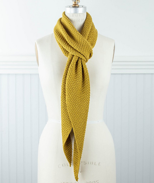 Parallelogram Sequence Scarf by Catherine Lowe