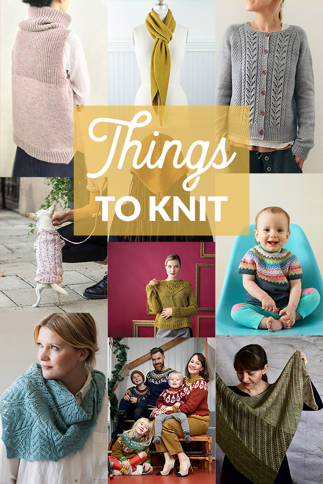 Things to Knit - April 2019 on Hands Occupied