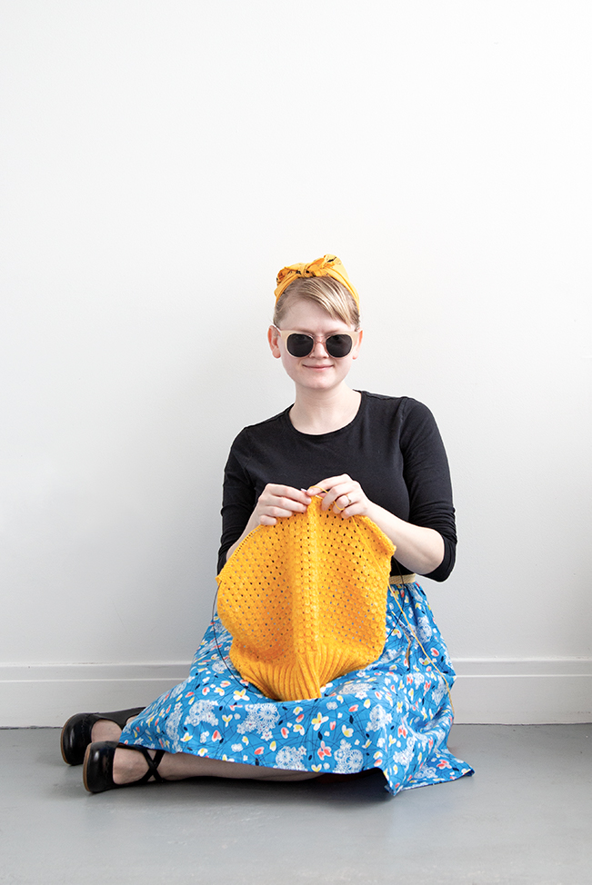 Hey hey hey! It's Me Made May! - Read about one maker's Me Made May-inspired handmade wardrobe goals, and how she plans to leverage a modest sewing skillset into a well-fitting, sustainable wardrobe.