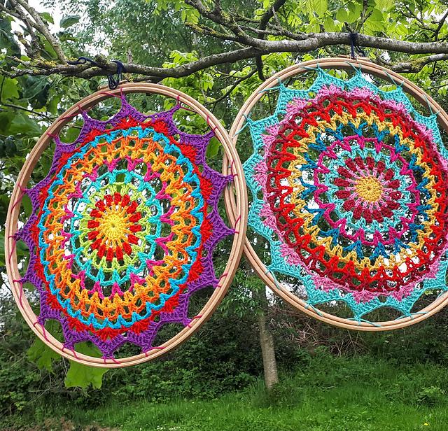 Summer Mandala crochet pattern by Carmen Heffernan
