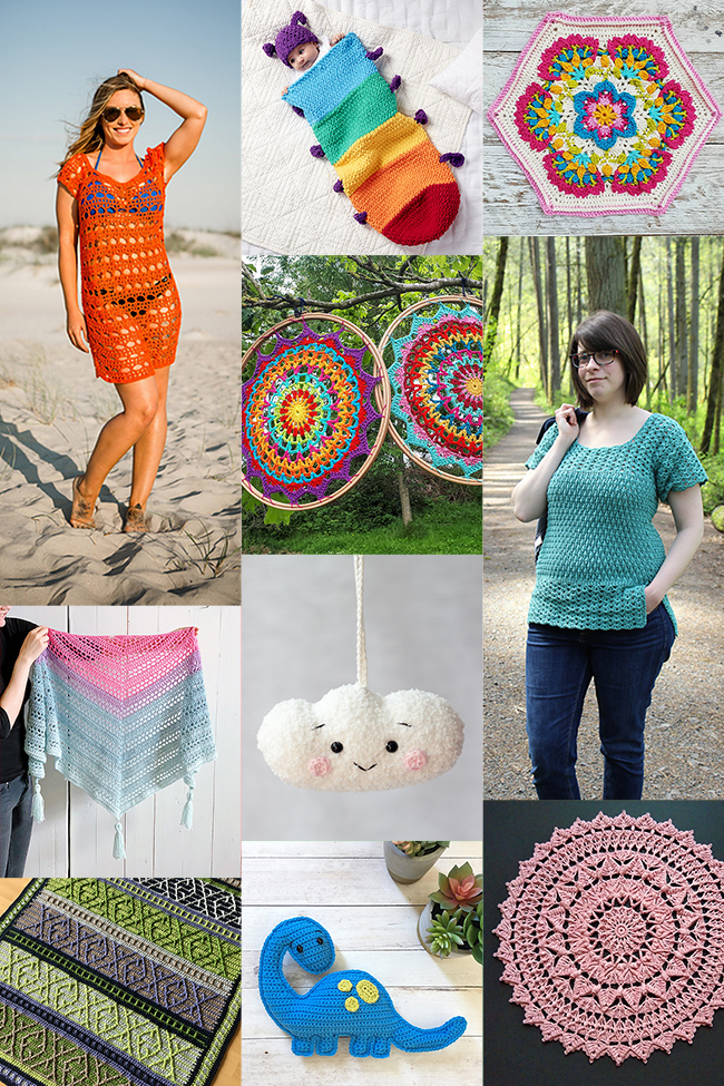 Things to Crochet - Looking for something summery to crochet? Find your summer crochet project with one of these brand new patterns from independent designers.