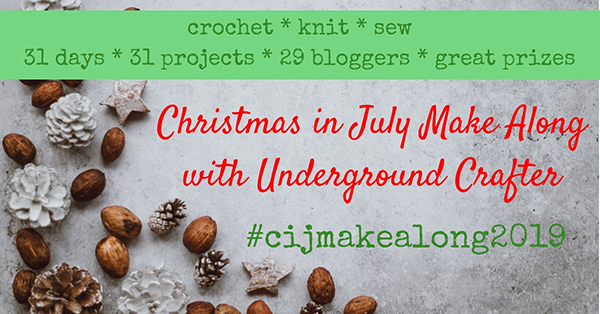 Christmas in July Make Along with Underground Crafter 2019