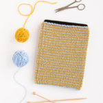 Comfy Tablet Sleeve – Free Knitting Pattern & Seaming Tutorial