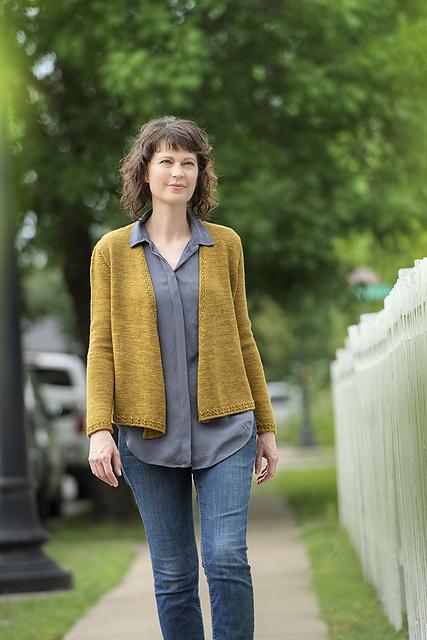 Antiquing knitting pattern by Lynn Everett