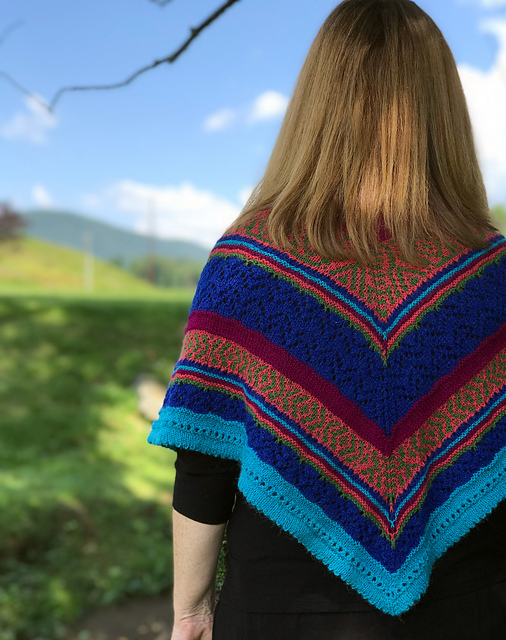 Firebranch knitting pattern by Liz Washburn